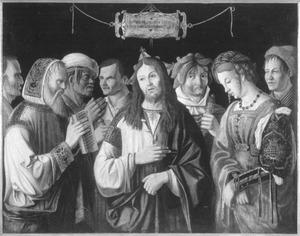 Christus en de overspelige vrouw (Joh. 8:2-11)