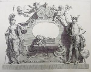 Handelskaart van Abraham van Wylick
