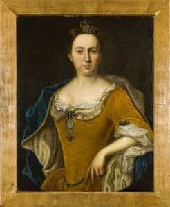Portret van een vrouw, mogelijk Anna Louise Maria Elizabeth Geertruida van Nagell (....-1821)