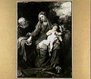 De H. Familie met de H. Maria Magdalena