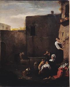 Italiaanse binnenplaats