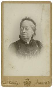 Portret van Aleida Anna Maria Haijunga (1825-1909)