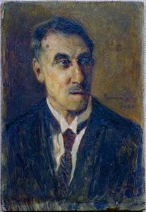 Portret van Gijsbert Albertus de Lange (1866-1940)