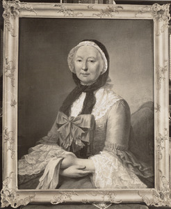 Portret van waarschijnlijk Anna Catharina Thomassen A Thuessink (1723- )