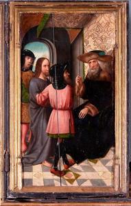 Passieretabel van Pruszcz Gdański (Praust): Christus voor Pilatus (Joh 18, 33–38)