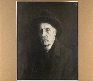 Portret van de schilder Cornelius Albertus Johannes Schermer (1824-1915)