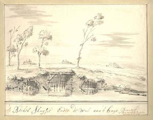 Zutphen, het Berkelsluisje bij het Hagepoortje