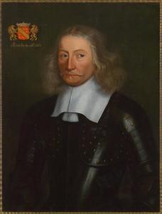 Portret van Arnold Schuijl van Walhorn (1602-1679)