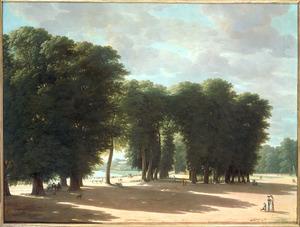De ingang van het park van Saint-Cloud te Parijs