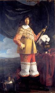 Portret van Frederik III, zoon van Christiaan IV van Denemarken
