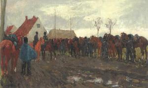 Halte der cavalerie
