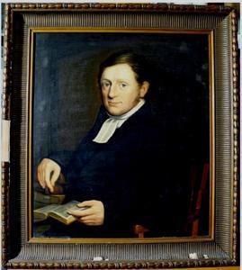 Portret van Petrus Arnoldus Conradus Hugenholtz (1790-1868)