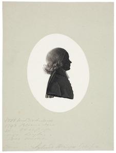 Portret van Sybrandus Heringa (1764-1801)