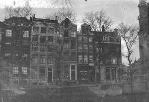 Gezicht op de Keizersgracht te Amsterdam