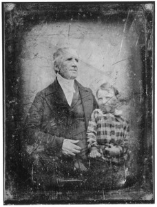 Portret van Coenraad Alexander Jordens (1785-1863) en Coenraad Alexander Prins (1843-1923)