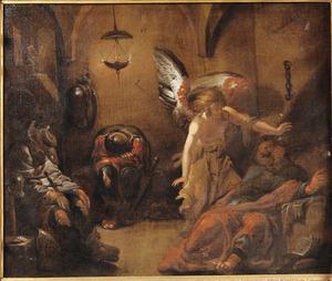 De bevrijding van Petrus door de engel (Handelingen 12)