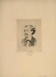 Portret van Paul Mantz (1821-1895)