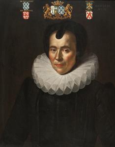 Portret van Susanna de Bazentin Dit de Malapert (1566-1625)