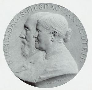 Portret van Hendrik Willem Mesdag (1831-1915) en Sientje Mesdag-van Houten (1834-1909)