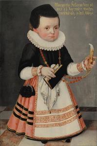 Portret van Margareta Fetzerin