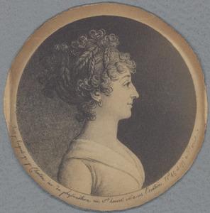 Portret van Ida Elisabeth Brunings (1769-1811)