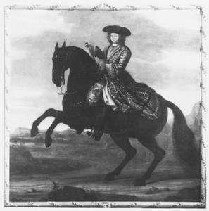 Ruiterportret van Karel XI, Koning van Zweden 1655-1697