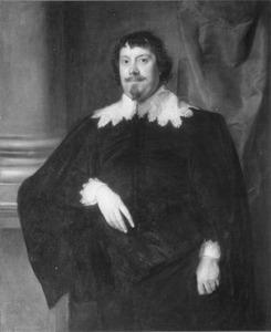 Portret van een man, mogelijk Mountjoy Blount, Baron Mountjoy of Thurveston, 1st Earl of Newport (?-1666)