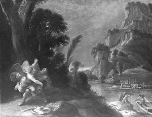 Jakob worstelt met de engel
