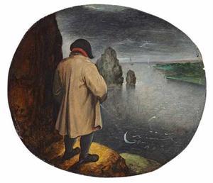 'Pissen tegen de maan