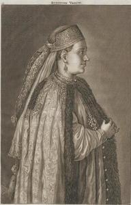 Portret van een Russissche vrouw