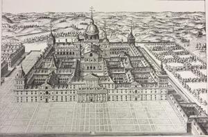 Prent van Monasterium S. Laurentii in Escoriali