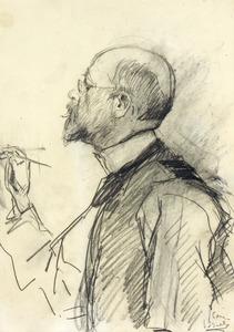 Portret van de schilder Jan Veth (1864-1925)