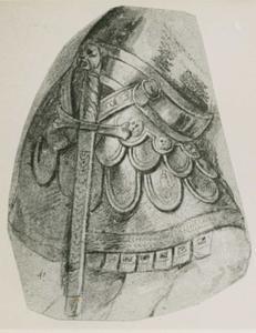 Harnas en zwaard van Theodosius