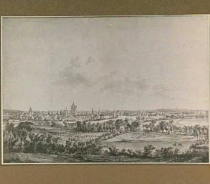 Arnhem, gezicht uit het noord-westen