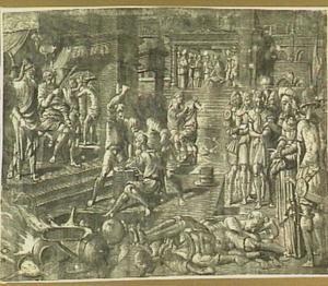 Een martelaarsscène