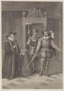 Johan van Oldenbarnevelt (1547-1619) wordt gearresteerd (1618)