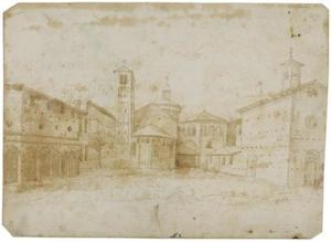 Kerken San Vittore al Corpo en San Marino in Milaan