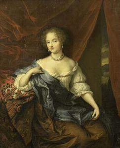 Portret van een vrouw, wellicht een lid van het geslacht Citters