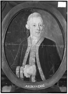 Portret van Augustinus Hendrik Duyvensz. (1744-1819)