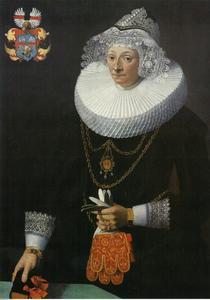 Portret van Christine Gräväus