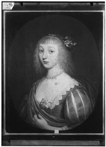 Portret van Sophia Dorothea van Brederode (1620-1678)