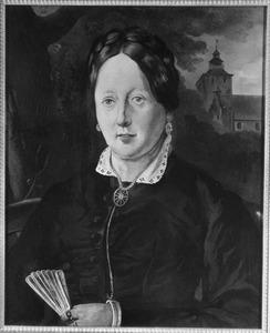 Portret van Elisabeth Bernardina Le Brun (1836-1908)