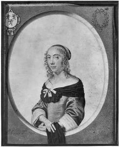 Portret van Abigael van Halewijn (1634-1691)