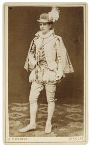 Portret van Carel Marius Rasch (1859-1910) als page