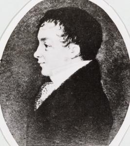 Portret van Antony Warnaars ( -1857)