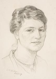Portret van Johanna Hindrika Beins (1879-1948)