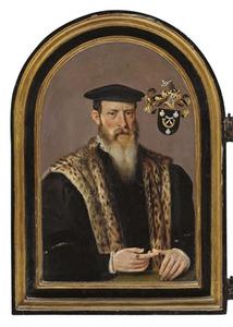 Portret van een man uit de familie Van Zuudt
