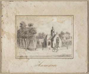 Oude Kerk in het dorp Heemstede