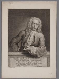 Portret van Johannes Burman (1707-1779)