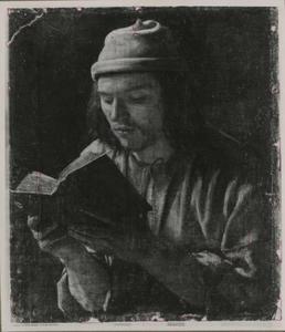 Zelfportret als een lezende man